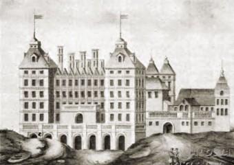 Pałac Kazanowskich i lwy