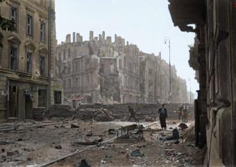 Powstanie Warszawskie te same miejsca dziś…
