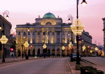 Kaplica Moskiewska i Pałac Staszica